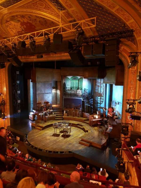 Walter Kerr Theatre, section: Mezzanine R, row: E, seat: 22