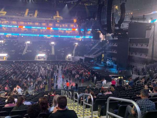 Chase Center, section: 103, row: 16, seat: 4