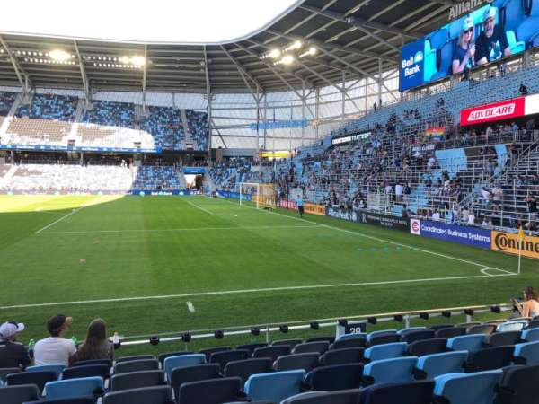 Allianz Field, section: 28, row: 8