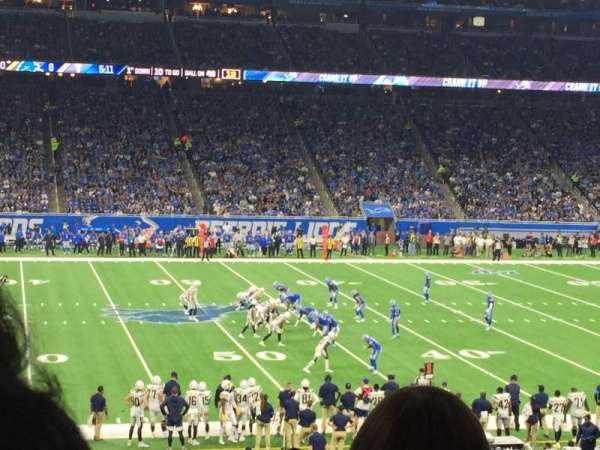 Ford Field, section: 126, row: 32, seat: 14