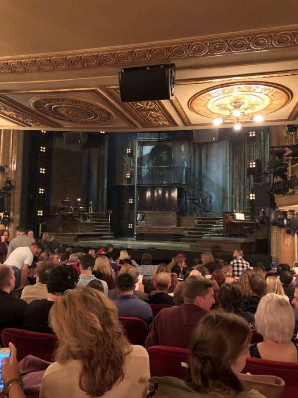 Walter Kerr Theatre, section: Orchestra R, row: Q, seat: 18