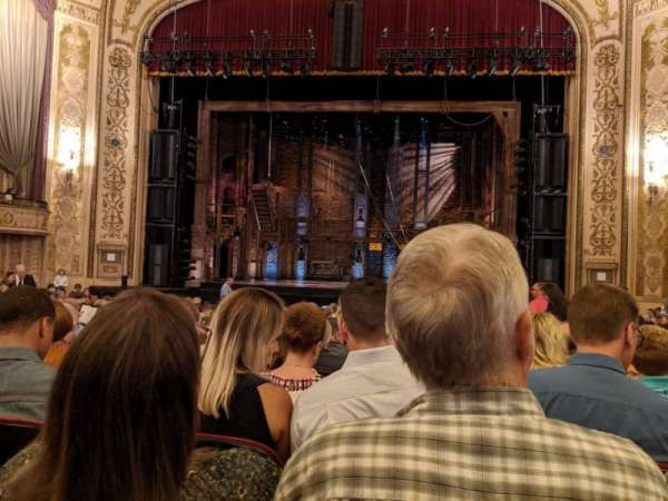 Orpheum Theatre (Omaha), section: Orchestra, row: T, seat: 115