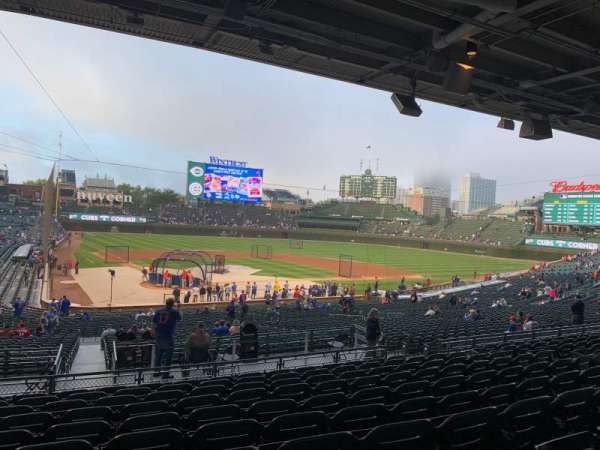 Wrigley Field, section: 220, row: 10, seat: 10