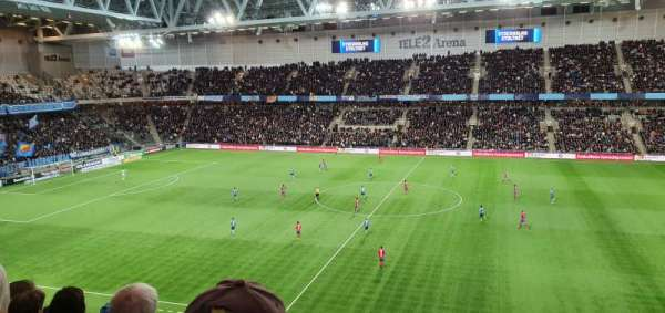 Tele2 Arena, section: B327, row: 9, seat: 329