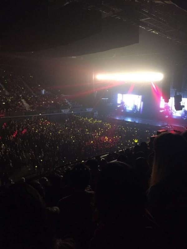 SSE Arena, Wembley, section: N11, row: P, seat: 131