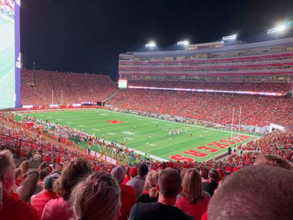 Memorial Stadium (Lincoln), section: 41, row: 64, seat: 11