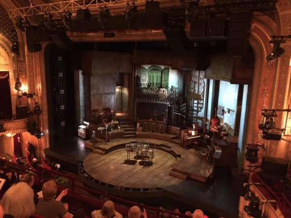Walter Kerr Theatre, section: Mezzanine L, row: F, seat: 18
