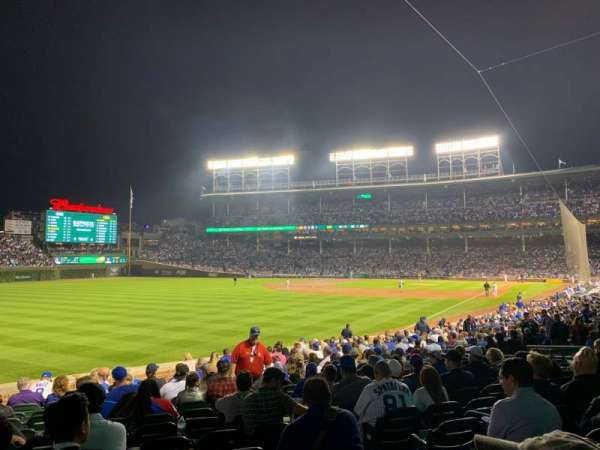 Wrigley Field, section: 102, row: 12, seat: 16