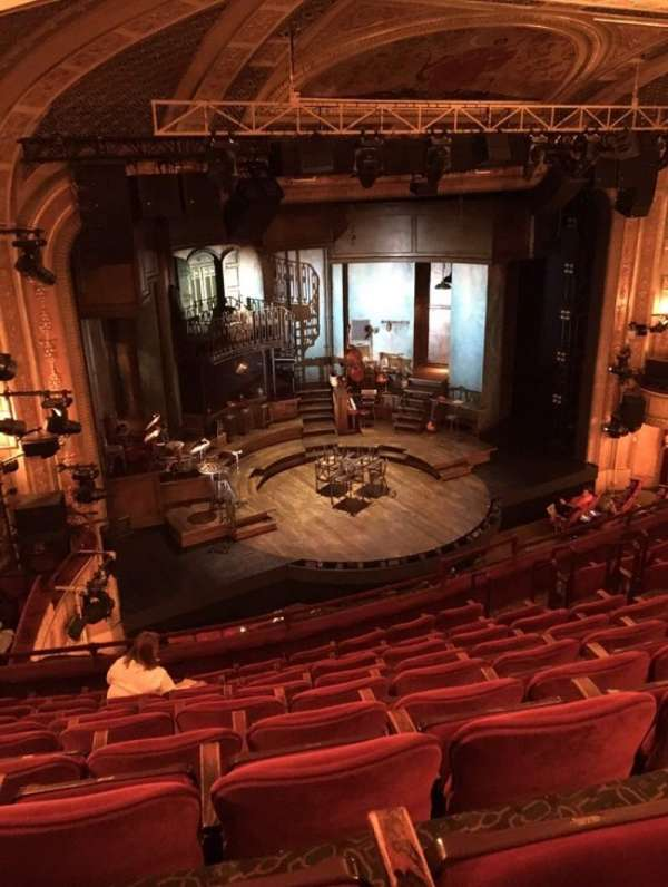 Walter Kerr Theatre, section: Mezzanine L, row: J, seat: 19