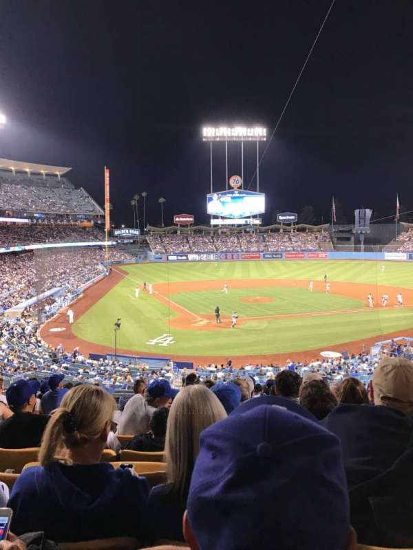 Dodger Stadium, section: 112LG, row: L, seat: 4