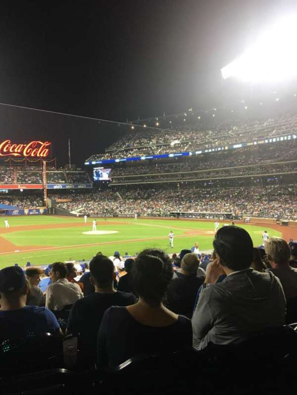 Citi Field, section: 122, row: 22, seat: 16