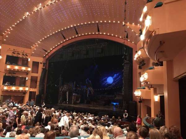 Procter And Gamble Hall at the Aronoff Center, section: Rear Orchestra R, row: U, seat: 320