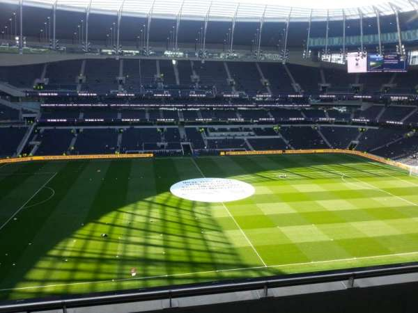 Tottenham Hotspur Stadium, section: 527, row: 4, seat: 863