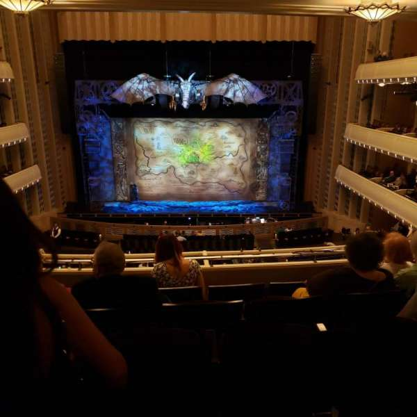 Reynolds Hall at The Smith Center, section: Dress Circle, row: E, seat: 211