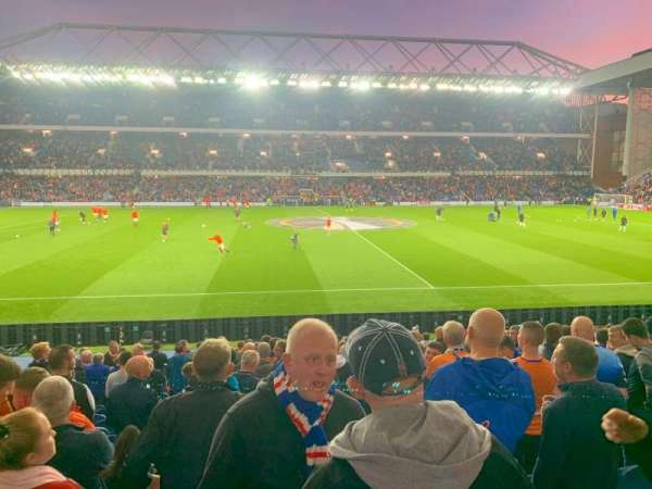 Ibrox Stadium, section: SJF, row: U, seat: 138