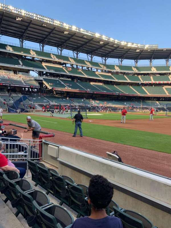 SunTrust Park, section: 16, row: 4, seat: 5