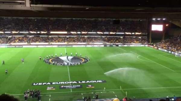 Molineux Stadium, section: W5, row: Z, seat: 134