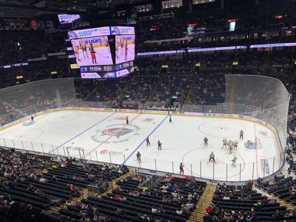 Nationwide Arena, section: 215, row: A, seat: 12