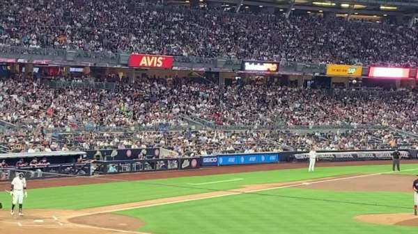 Yankee Stadium, section: 115, row: 30 , seat: 7