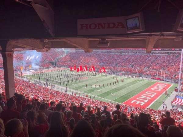 Ohio Stadium, section: 12B, row: 11, seat: 4