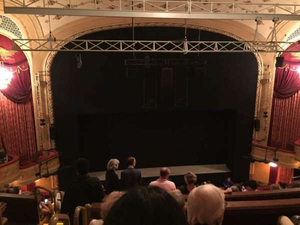 Bernard B. Jacobs Theatre, section: Mezzanine C, row: H, seat: 114