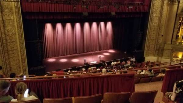 Chicago Theatre, section: Balcony2L, row: D, seat: 209