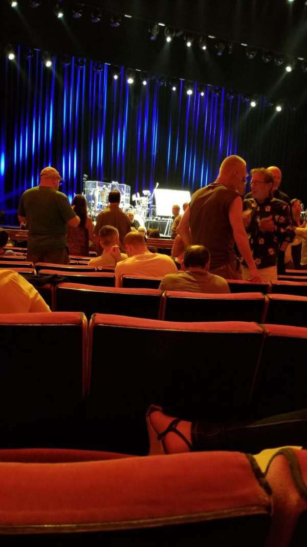 Radio City Music Hall, section: Orchestra 5, row: JJ, seat: 507