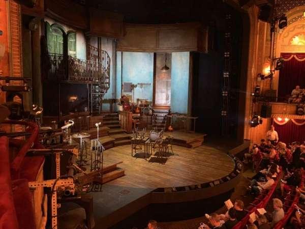 Walter Kerr Theatre, section: Box L, seat: 8