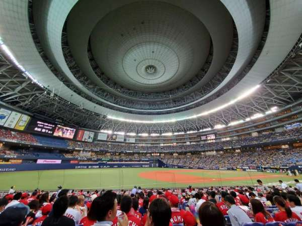 Kyocera Dome, section: 19, row: O, seat: 262