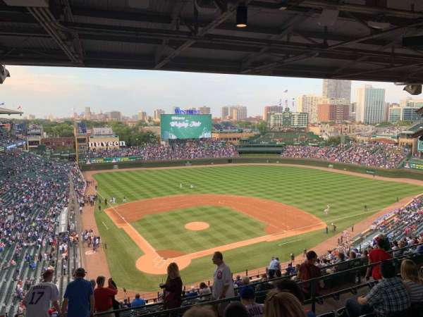 Wrigley Field, section: 420R, row: 6, seat: 7