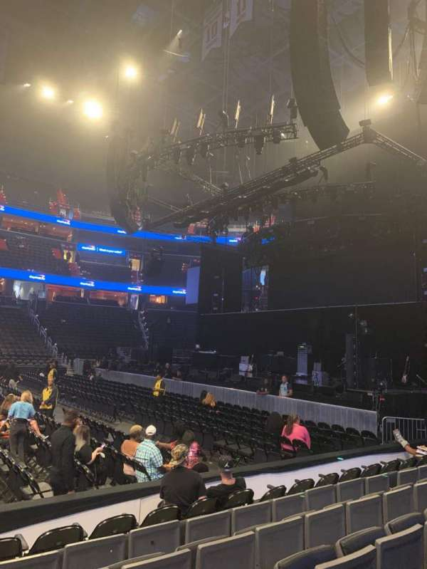 Capital One Arena, section: 112, row: F, seat: 1