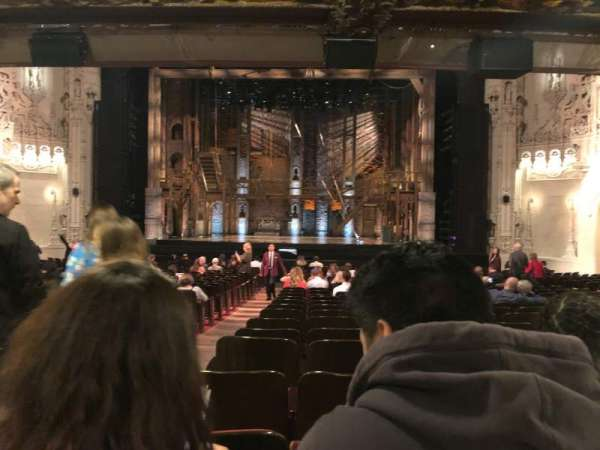 Orpheum Theatre (San Francisco), section: Orchestra RC, row: Z, seat: 102