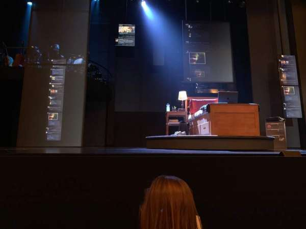 Music Box Theatre, section: Orchestra C, row: B, seat: 107