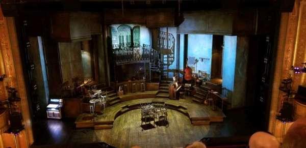 Walter Kerr Theatre, section: Mezzanine C, row: F, seat: 108