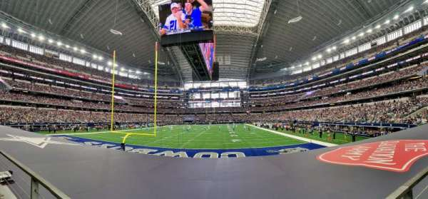 AT&T Stadium, section: 122, row: 8, seat: 12