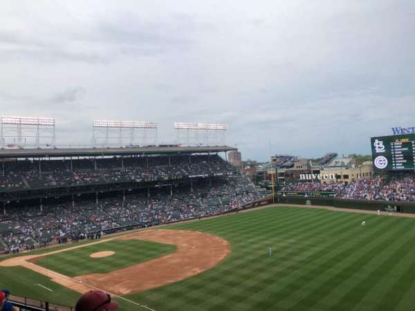 Wrigley Field, section: 330R, row: 7, seat: 7
