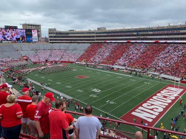 Camp Randall Stadium, section: BB, row: 6, seat: 3