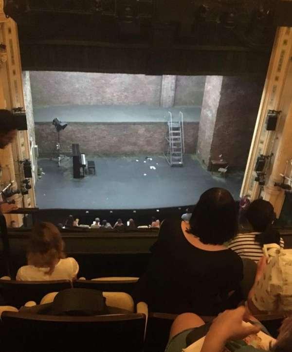 Hudson Theatre, section: Balcony C, row: D, seat: 103