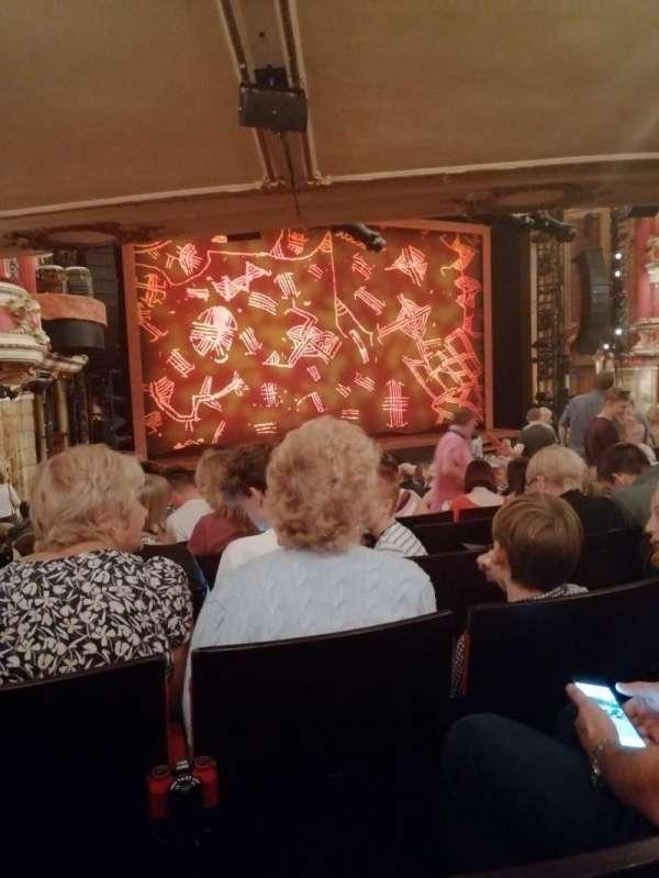 Bristol Hippodrome, section: Stalls, row: W, seat: 44