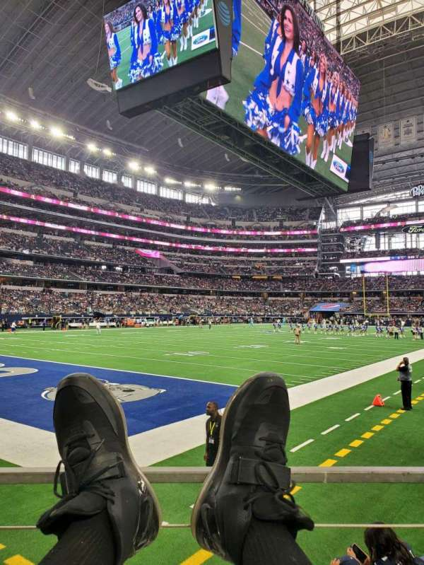 AT&T Stadium, section: 120, row: A, seat: 1