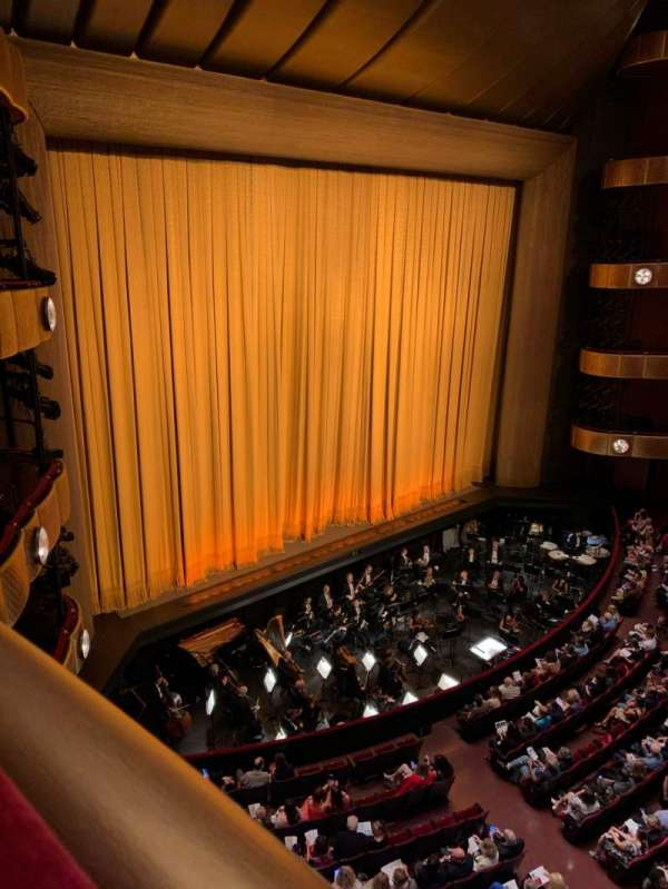 David H. Koch Theater, section: 3rd Ring, row: AA, seat: 11