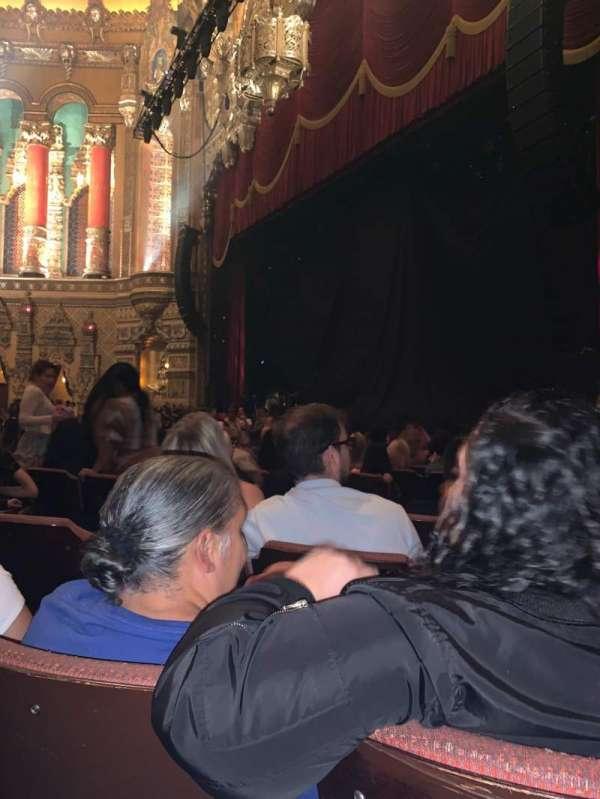 Fox Theatre (Detroit), section: FP, row: P, seat: 608