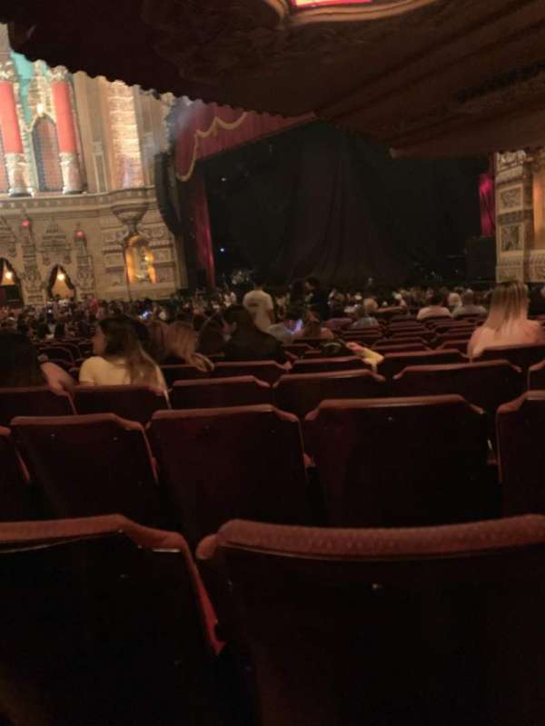 Fox Theatre (Detroit), section: F6, row: CC, seat: 611