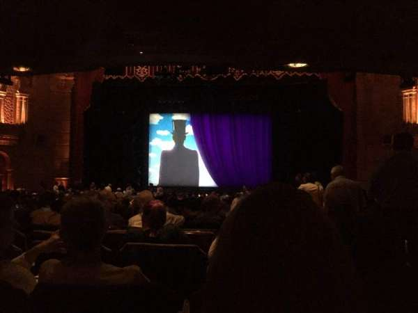 Fox Theatre (Atlanta), section: Orchestra C, row: DD, seat: 102