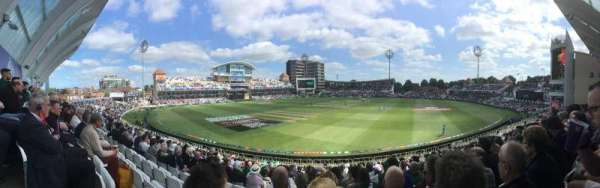 Trent Bridge, section: Bridgeford Road Stand, row: X, seat: 67