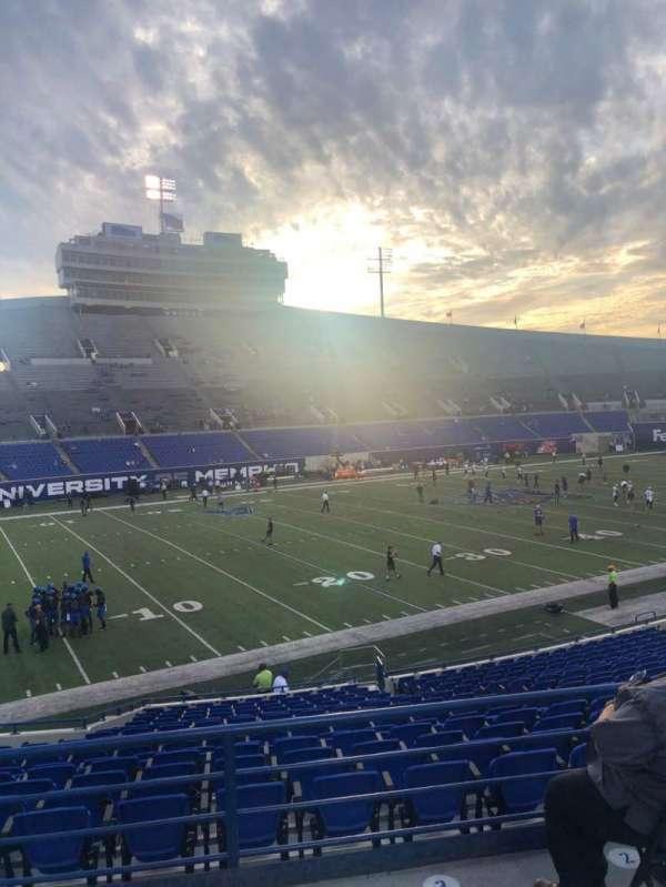 Liberty Bowl Memorial Stadium, section: 123, row: 28, seat: 14