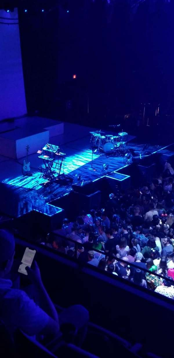 Revention Music Center, section: 208, row: D, seat: 7