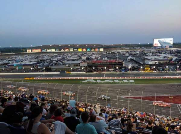 Charlotte Motor Speedway, section: Chrysler E, row: 43, seat: 27