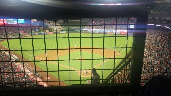 Angel Stadium, section: V519, row: E, seat: 18