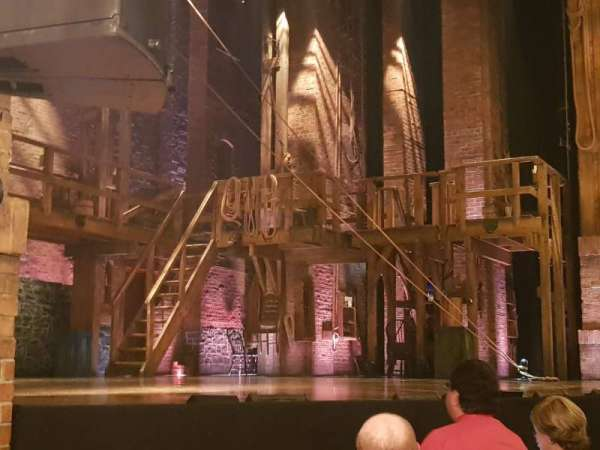 Richard Rodgers Theatre, section: Orchestra L, row: D, seat: 21
